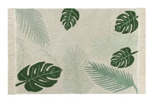 Dywan do prania w pralce Tropical Green 140x200 cm Lorena Canals