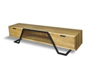 8a05f9cc4814 Szafki RTV drewniane - Bogate Wnętrza