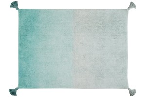 Dywan do prania w pralce Degrade Emerald 120x160 cm, Lorena Canals