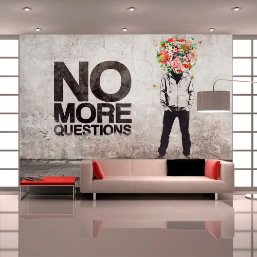 Fototapeta - No more questions