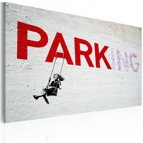 Obraz - Parking (Banksy)
