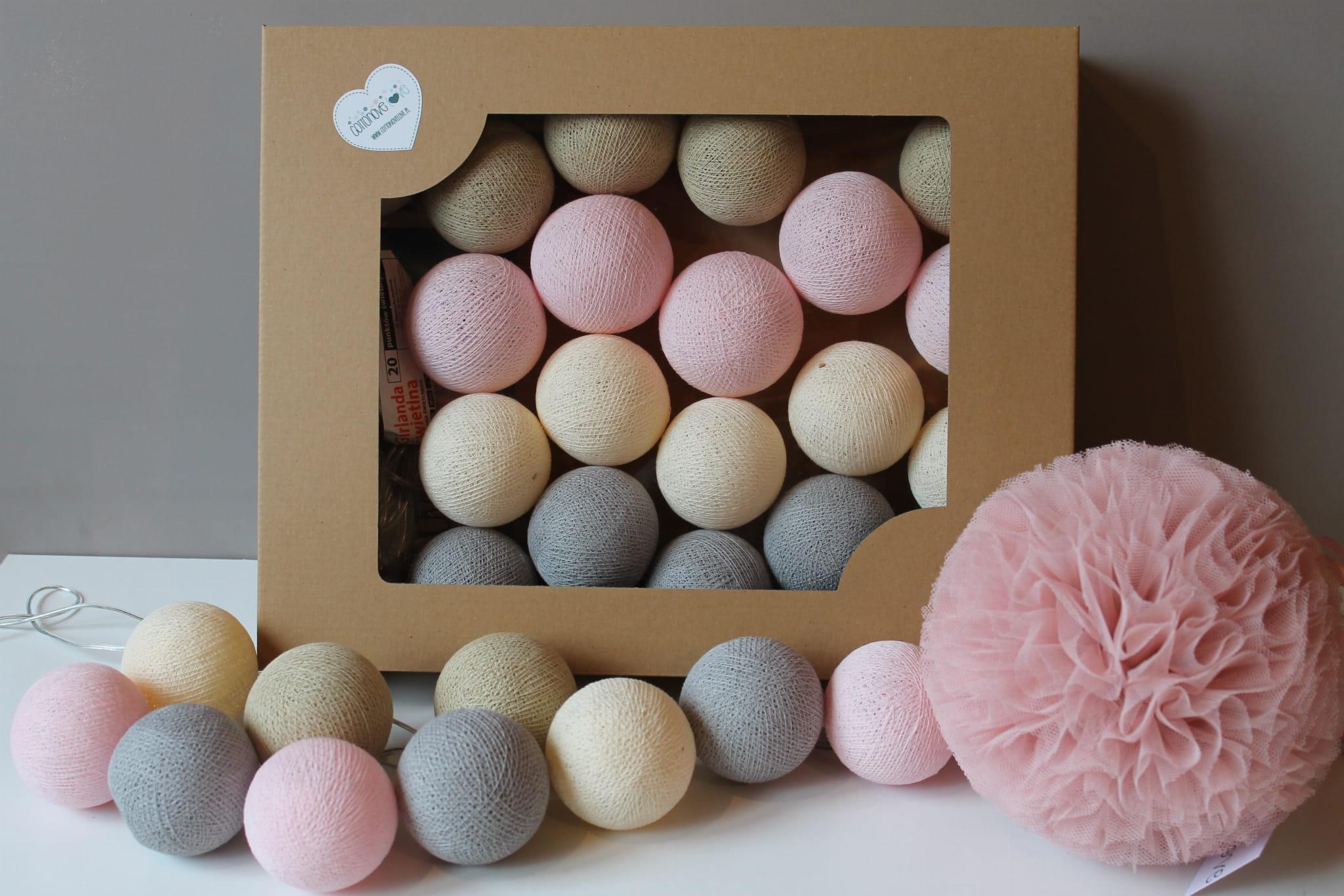 Cotton Balls Pastelowe